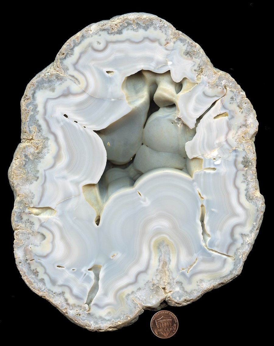 Dwarves Earth Treasures: Warsaw Formation Agates From